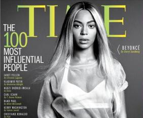 Beyonce Time feature
