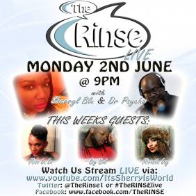 The Rinse 2nd June