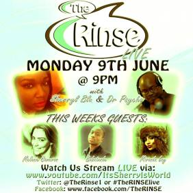 the rinse monday 9th june